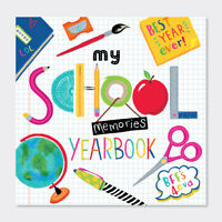My School Memories Yearbook by Rachel Ellen Designs Childrens Activity Book