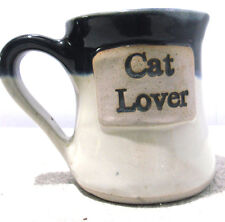 """CAT LOVER"" STONEWARE MUG/CUP"