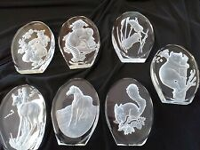 Danbury Mint Animal Sculptures By Phillip Nathan Set Of 7.