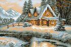 RIOLIS 1080 Vista invernale Kit Per Ricamo contato