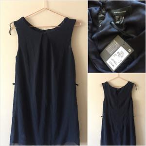 BNWT Primark Navy Blue Mini Dress Size 10