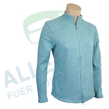 "Callaway Fleece Jacket "" Elements "" for Ladies Size 36, Light Turquoise Mottled"