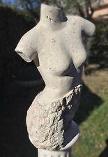 Statue importante 72 cm - Sculpture brute Moderne Nu - très décorative -