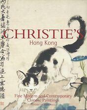CHRISTIE'S HK MODERN CHINESE PAINTING Bao Shaoyou Lin Fengmian Zhang Daqian Cat3