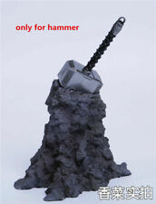 Thor hammer Weapon Props 1/6 Scale Model Accessories Fit 12