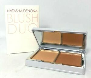 Natasha Denona Blush Duo ~ Palette #09  02 Toutou / 04 matte Peach ~ 0.25 oz x 2