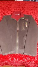 MENS THICK BROWN ZIP UP JACKET- Size L Made by Urbanspirit