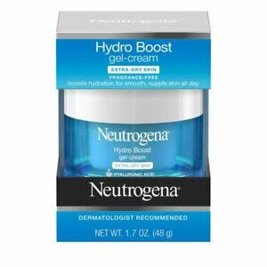 Neutrogena Hydro Boost Hyaluronic Acid Hydrating Gel-Cream Face Moisturize 1.7 f