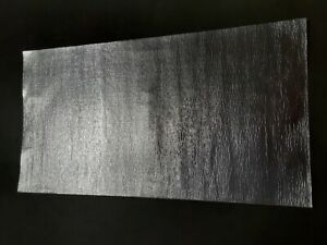 "Heat Shield Aluminum-Fiberglass w/adhesive - Professional 12""x 24"""
