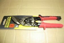 STANLEY FATMAX RED LEFT CUT TIN SNIPS NEW