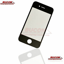 Für Apple iPhone 4S Display Glas Scheibe Glass LCD Window Frontglass Schwarz