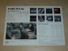 34863) Daewoo Nexia Polen Prospekt 199?