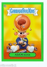 2011 GARBAGE PAIL KIDS FLASHBACK ADAM MANIA GREEN #3 OF 10