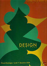 DROUOT Design 1950-2008 Arad Fontana Mategot Sottsass