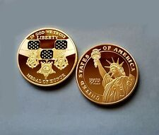 Usa commemorative coin the medal of Honor-wwii