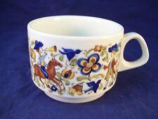 Villeroy & Boch Porcelain Troubadour Tea Cup Birds & Horses Replacement Germany