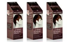 3 x Scott Cornwall Colour Restore Chocolate Brown Semi Permanent Hair Dye Toner