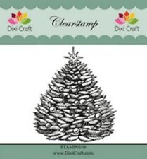 Dixi Craft Clear Stamp - Christmas Tree 2  - STAMP0108