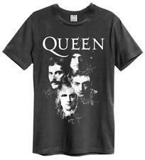 Queen 'Autographs' (Charcoal) T-Shirt - Amp   - NEW & OFFICIAL!