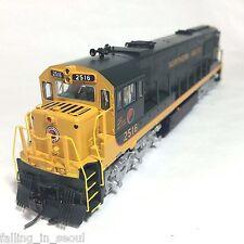 Korea Brass HO 1/87 Scale GE U25C U252011 Northern Pacific #2516 DC Model Train