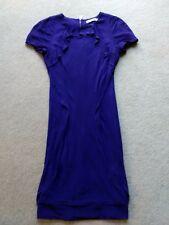 Karen Millen jersey dress bodycon fitted short sleeve dress size 8