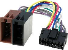 Câble adaptateur connecteur faisceau ISO pour autoradio JVC 16PINS