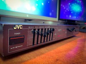 JVC SEA-11B (1984) Retro Vintage Stereo Graphic Equalizer