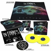 Battles von In Flames (2016) Boxset 2LP Yellow Vinyl+Digipak CD Neuware