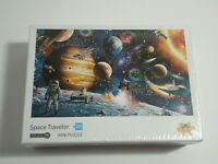1000 PCS Space Traveler Planet Jigsaw Puzzle Educational Kids/Adult New Sealed