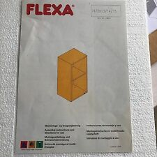 FLEXA CABINET with SHELF, WHITEWASH FINISH,   #70000214,  QUALITY! NIB!