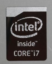  WHOLESALE  5x Intel Core i7 Chrome Metal Sticker/Haswell Case Badge USA seller!