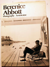 BERENICE ABBOTT/PHOTOGRAPHE AMERICAINE/O NEAL/ED SERS/1981/EO