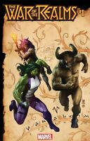 WAR OF REALMS #1 CAMUNCOLI CONNECTING REALM VARIANT Marvel 2019 NM
