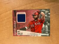 2019 Topps Series 2 - Joey Gallo - Major League Materials Relic RANGERS