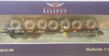 Liliput 265769 Vehículo de transporte para bobinas 6-achsig DB AG EP5/6 con kkk