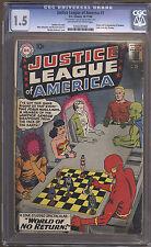 Justice League of America 1  CGC 1.5