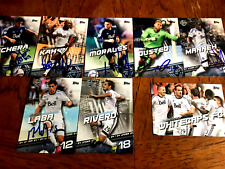 Vancouver Whitecaps 2016 TOPPS MLS Signed TEAM SET  cards from Current Roster