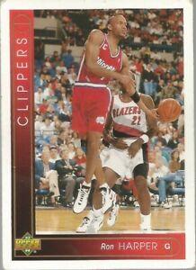 Carte NBA UPPER DECK 1993-94 FR #35 Ron Harper Los Angeles Clippers