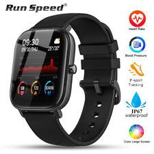 Sports Smart Watch Fitness Tracker Blood Pressure Heart Rate Monitor Waterproof