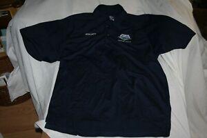 Reebok Super Bowl XLIII Tampa Bay 2-01-09 Retail Staff Blue Polo Shirt XL