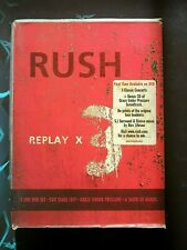 Rush - Replay (DVD, 4 discs, Exit State Left, Show of Hands, Grace Tour DVD & CD
