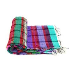 Indian Rectangular Hand Woven Chindi Rag Rug Floor Handmade Carpet Tropical Mat