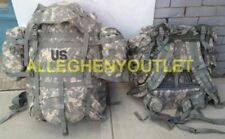 US MILITARY ACU MOLLE LARGE RUCK SACK FIELD PACK COMPLETE W FRAME & POUCHES EXC
