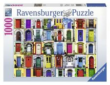 RAVENSBURGER PUZZLE*1000 TEILE*DOORS OF THE WORLD*TÜREN*RARITÄT*OVP