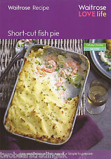 Recipe Card: Short-Cut Fish Pie (Waitrose)