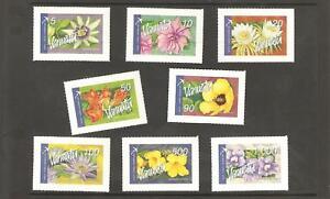 2006  -  VANUATU   - S.G.  982a / 982h  -  FLOWERS  S/A - Mint
