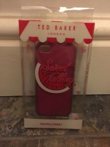 TED BAKER iPhone 5 Case BUNDLE Used - Genuine