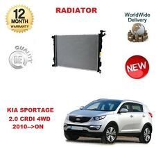 FOR KIA SPORTAGE 2.0 CRDI 4WD 2010-->ON NEW COOLING RADIATOR UNIT