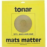 Tonar 5972 Pure Cork Turntable Mat Belt Drive Turntable