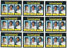 9X  KYLE LEWIS 2020 TOPPS HERITAGE ROOKIE RC #391 LOT (MARINERS)